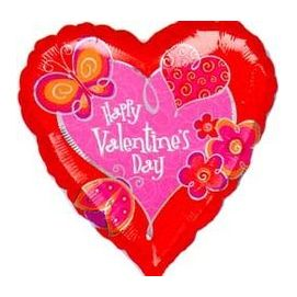Happy Valentines Day heart balloon: $19.50