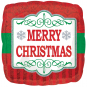 Merry Christmas Red & Green 45cm: $21.50
