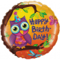 Colourful Birthday Owl 46cm: $21.50